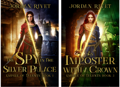 Empire of Talents 1 and 2 Covers