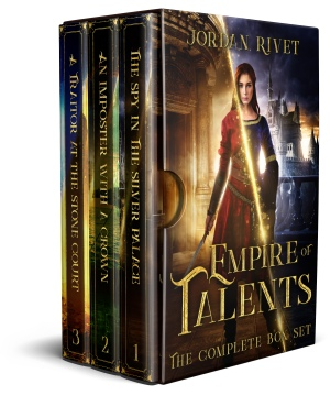 Empire of Talents Box Set Cover